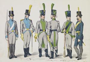 Suomen sodan 1808-1809 aikaisia asepukuja